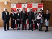 秋田林業ホーム株式会社様から赤い羽根社会課題解決プロジェクトにご寄付いただきました!!