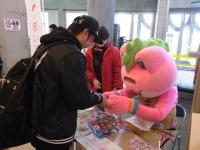 秋田ノーザンハピネッツの試合会場で募金活動を行いました!!!