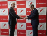 秋田林業ホーム株式会社様から「赤い羽根社会課題解決プロジェクト」にご寄付いただきました!