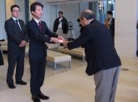 NHK歳末たすけあい贈呈式を実施しました!