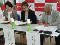 大仙市で「募金百貨店プロジェクト」第3弾調印式を行いました!