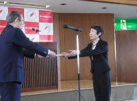 平成29年度 赤い羽根共同募金広域助成交付書伝達式を実施しました!