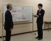 秋田銀行新入行員の皆様から東日本大震災義援金に募金いただきました!