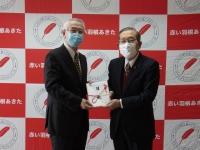 秋田林業ホーム株式会社様からNHK歳末たすけあいにご寄付をいただきました!