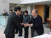 「NHK歳末たすけあい」贈呈式を行いました!