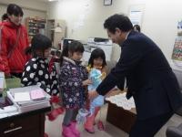 こまどり幼稚園の皆さんから「NHK歳末たすけあい運動」にご寄付をいただきました!